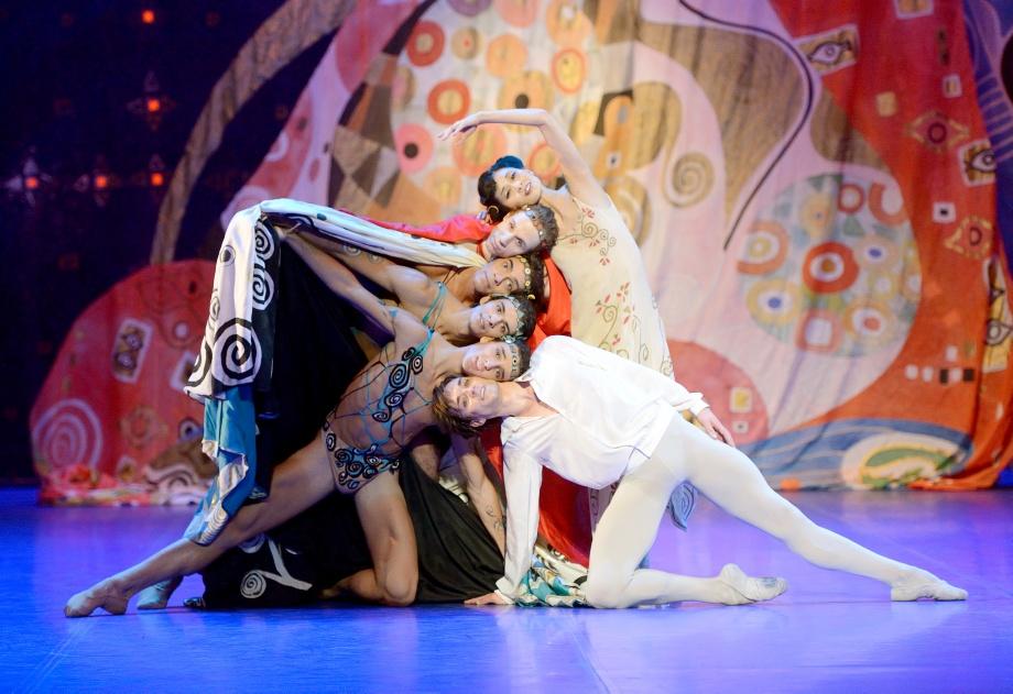 "6. S.J.Kang, R.Novitzky, J.Reilly, C.Allen, M.F.Paixa and F.Vogel, ""Poème de l'Extase"" by J.Cranko, Stuttgart Ballet 2015"