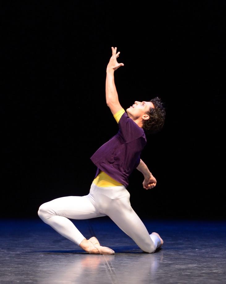 """4. Pablo von Sternenfels, """"Solo"""" by H.van Manen, Stuttgart Ballet 2015"""