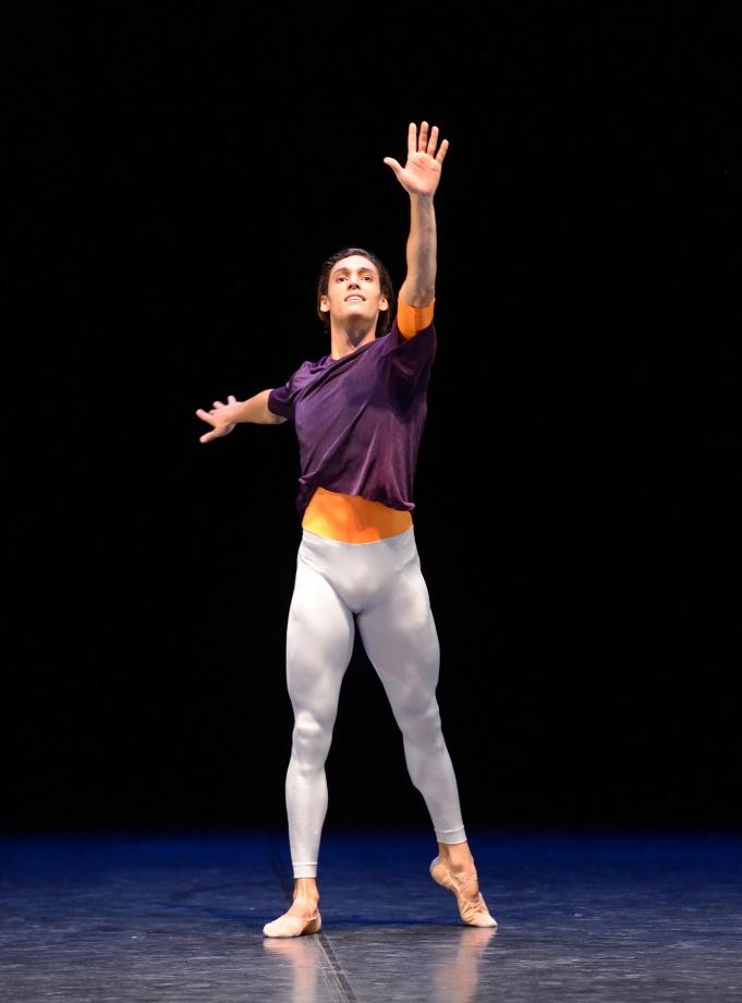"3. Daniel Camargo, ""Solo"" by H.van Manen, Stuttgart Ballet 2015"