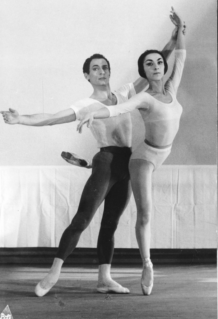 "3. H.Delavalle and G.Tsinguirides, ""Apollon musagéte"" by G.Balanchine, Ballet of the Wuerttemberg State Theater © B.Straubel"