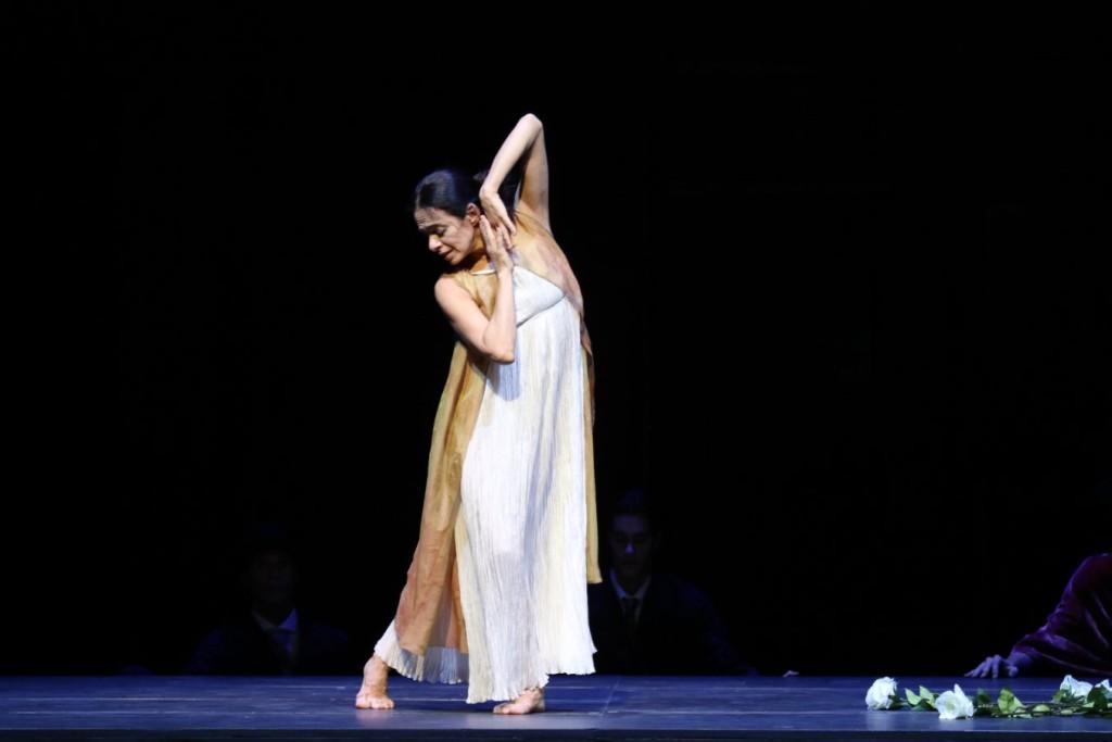 """2. Alessandra Ferri, """"Duse"""" by J.Neumeier, Hamburg Ballet © H.Badekow 2015"""