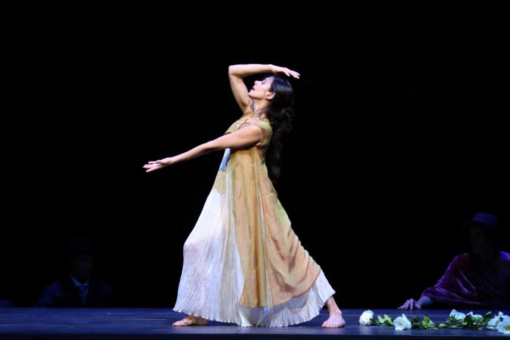 """3. Alessandra Ferri, """"Duse"""" by J.Neumeier, Hamburg Ballet © H.Badekow 2015"""