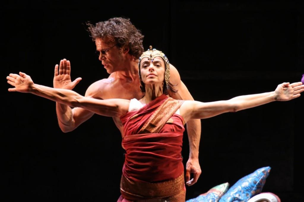"""6. Alessandra Ferri and Carsten Jung, """"Duse"""" by J.Neumeier, Hamburg Ballet © H.Badekow 2015"""