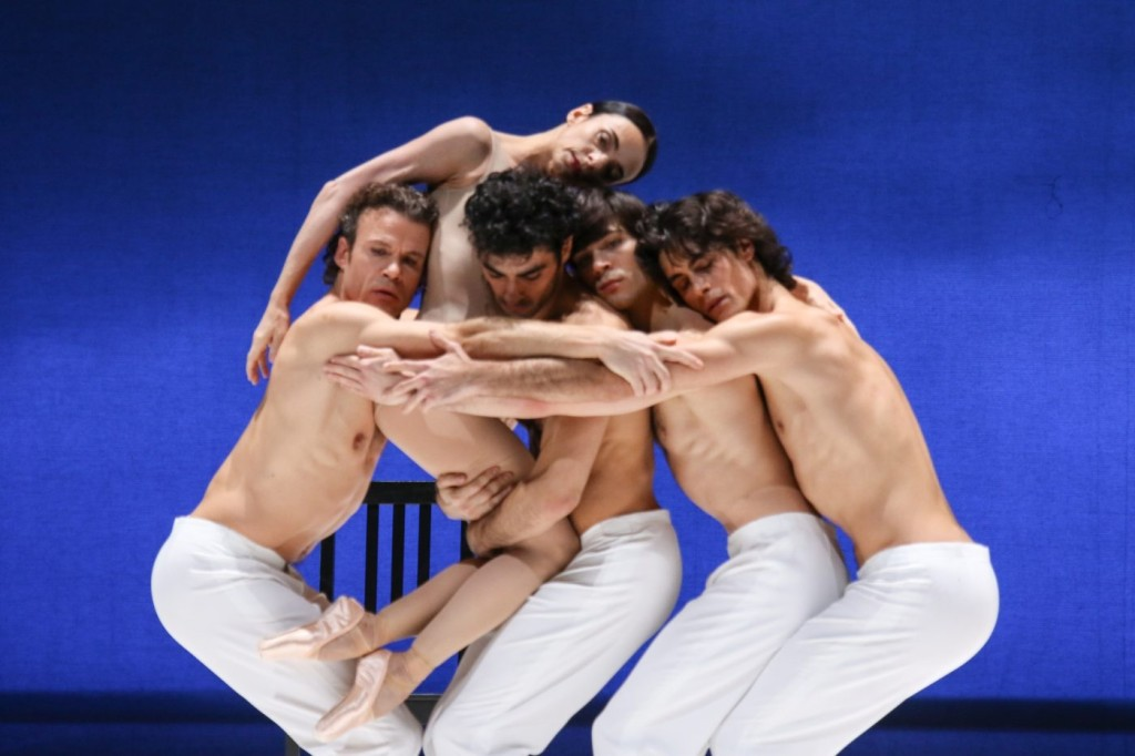 """12. C.Jung, A.Ferri, K.Azatyan, A.Trusch and M.Jubete, """"Duse"""" by J.Neumeier, Hamburg Ballet © H.Badekow 2015"""