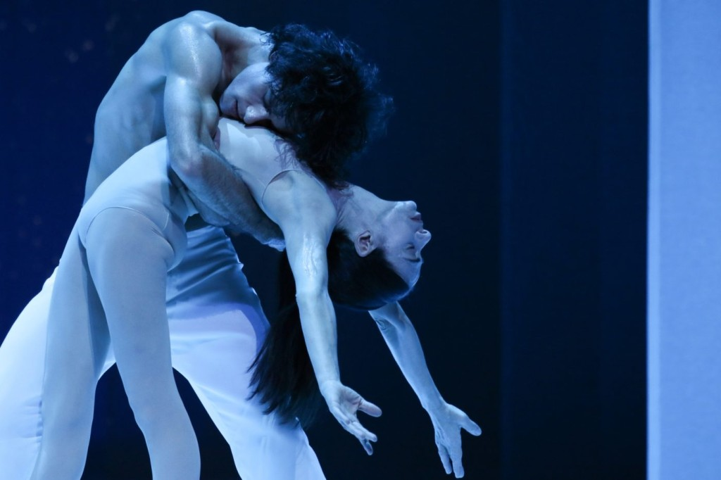 "15. M.Jubete and A.Ferri, ""Duse"" by J.Neumeier, Hamburg Ballet © H.Badekow 2015"