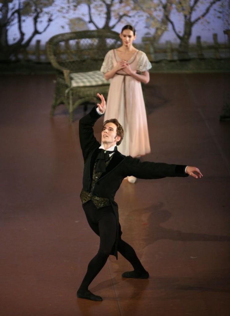 """4. J.Jelinek and P.Semionova, """"Onegin"""" by J.Cranko, Stuttgart Ballet © U.Beuttenmüller"""