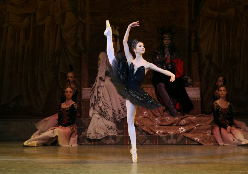 "3. A.Somova and ensemble, ""Swan Lake"" by K.Sergeyev after M.Petipa and L.Ivanov, Maryinsky Ballet © N.Razina"