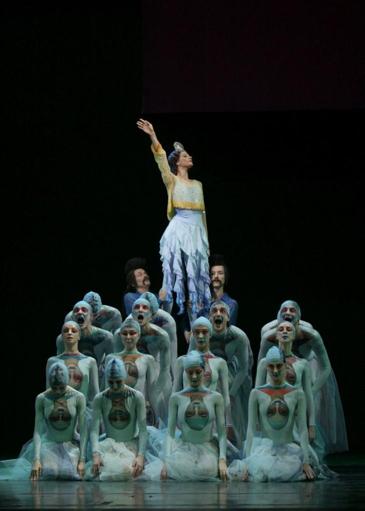 "4. Y.Kondaurova and ensemble, ""The Little Humpbacked Horse"" by A.Ratmansky, Maryinsky Ballet © N.Razina"