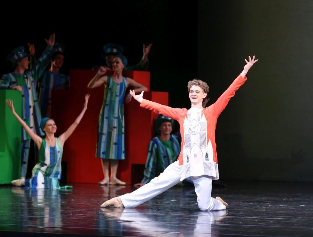 "5. A.Timofeyev and ensemble, ""The Little Humpbacked Horse"" by A.Ratmansky, Maryinsky Ballet © N.Razina"