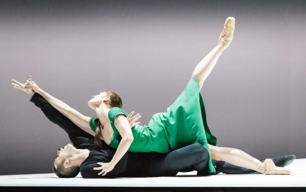 """1. C.Richardson and F.Voranger, """"Tristan + Isolde"""" by D.Dawson, Semperoper Ballet Dresden © I.Whalen"""