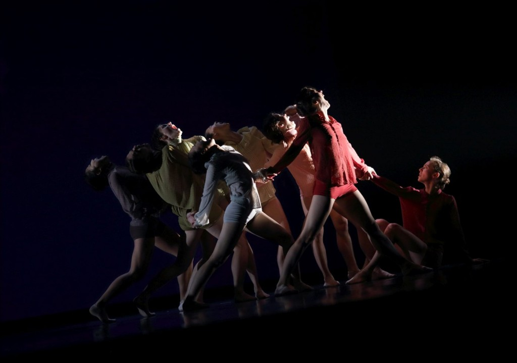 "4. Ensemble, ""Fatal"" by R.Lopes Graça, Ballet de l'Opéra national du Rhin"