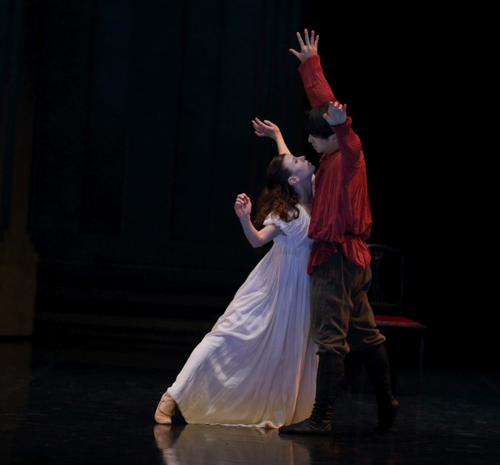 "8. S.Ehrensperger and R.Ma, ""Romeo and Juliet"" by B.d'At, Ballet de l'Opéra national du Rhin"
