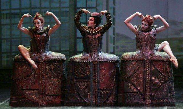 """1. A.Albano, D.Gazzo and V.Toppi, """"Cinderella"""" by M.Bigonzetti, Ballet Company of Teatro alla Scala"""