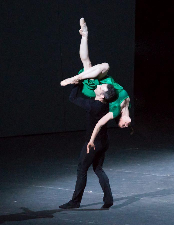 """3. F.Voranger and C,Richardson, """"Tristan + Isolde"""" by D.Dawson, Semperoper Ballet Dresden © I.Whalen"""