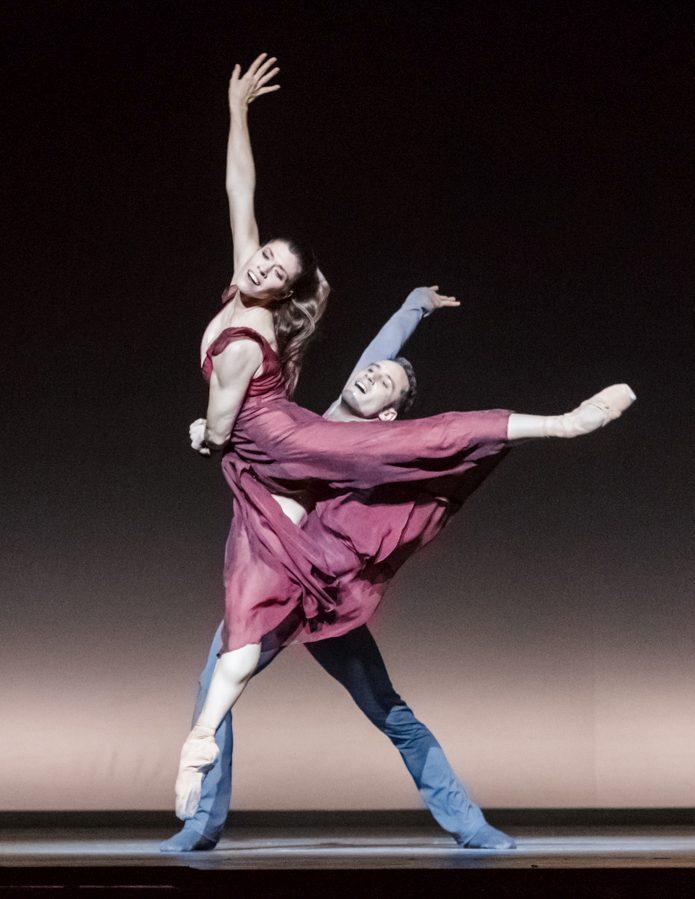 """7. C.Richardson and F.Voranger, """"Tristan + Isolde"""" by D.Dawson, Semperoper Ballet Dresden © I.Whalen"""