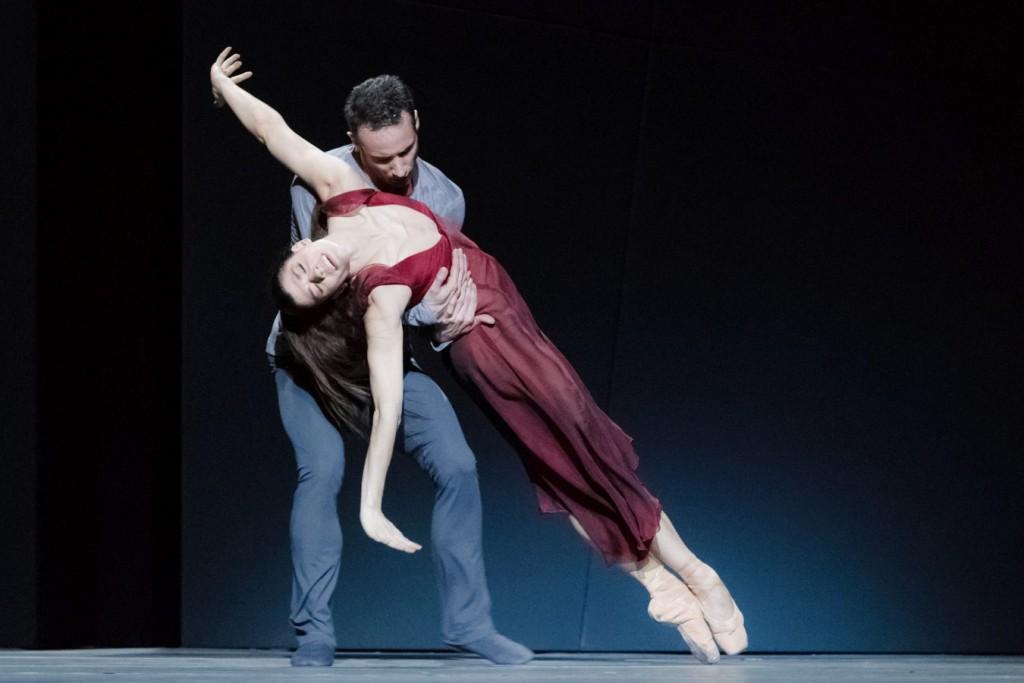 """8. C.Richardson and F.Voranger, """"Tristan + Isolde"""" by D.Dawson, Semperoper Ballet Dresden © I.Whalen"""