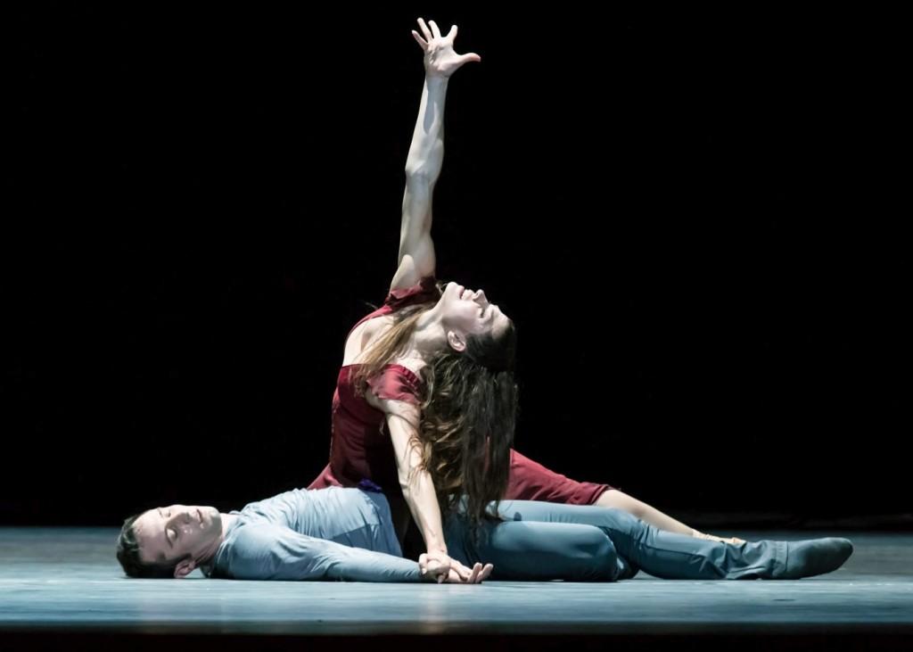 """10. C.Richardson and F.Voranger, """"Tristan + Isolde"""" by D.Dawson, Semperoper Ballet Dresden © I.Whalen"""