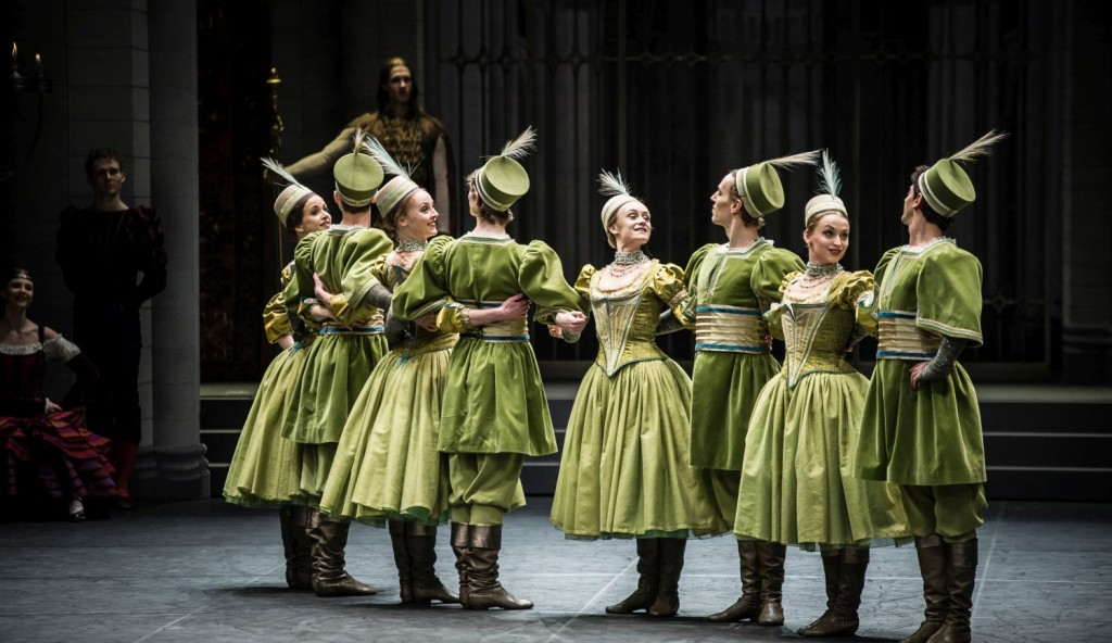 """8. Ensemble (Mazurka), """"Swan Lake"""" by M.Petipa and L.Ivanov with additional choreography by A.Ratmansky, Ballet Zurich and Junior Ballet Zurich"""