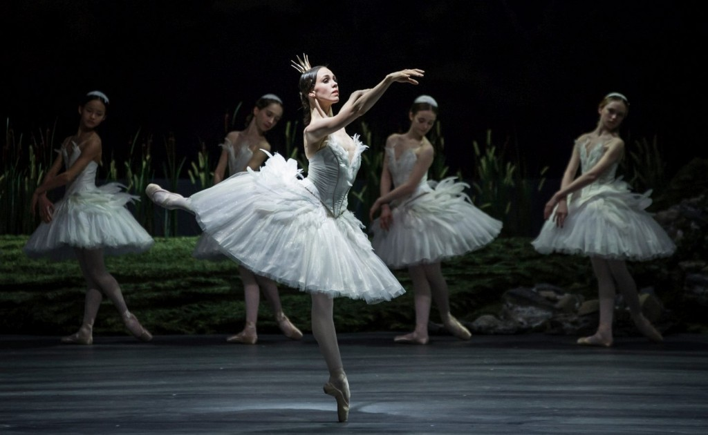 "1. V.Kapitonova and ensemble, ""Swan Lake"" by M.Petipa and L.Ivanov with additional choreography by A.Ratmansky, Ballet Zurich"