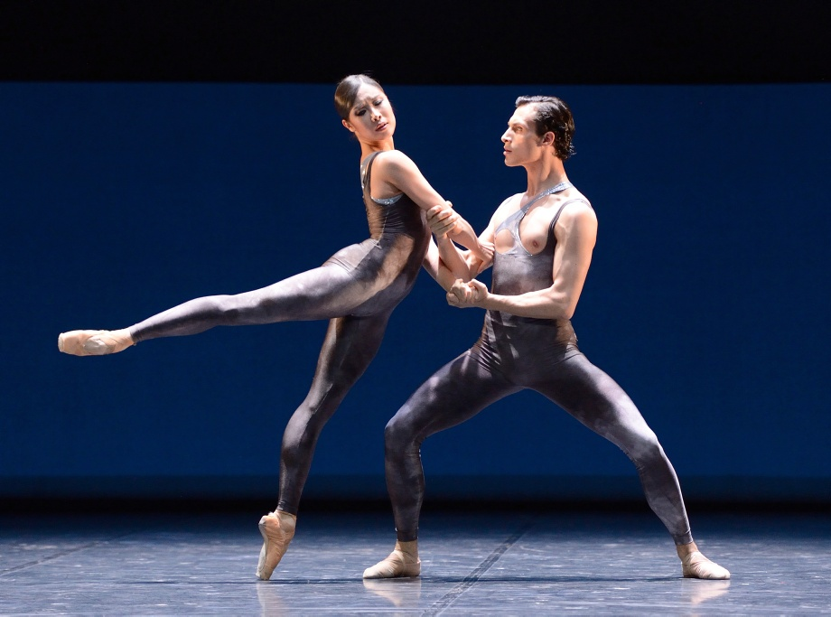 "9. H.-J.Kang and P.v.Sternenfels, ""Neurons"" by K.Kozielska, Stuttgart Ballet 2016"