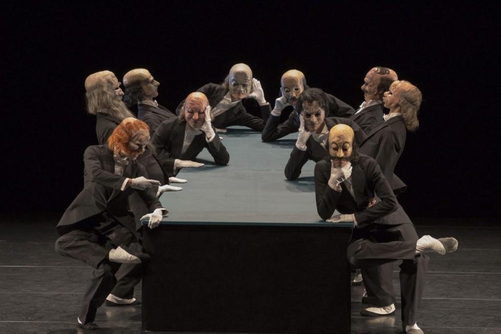 """16. Ensemble, """"The Green Table"""" by K.Jooss © The Jooss Estate, Ballett am Rhein © G.Weigelt"""