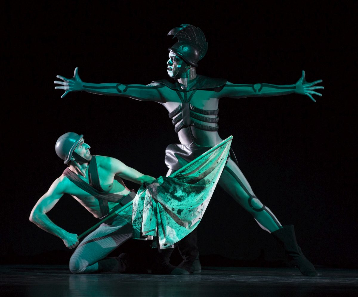 green table dance