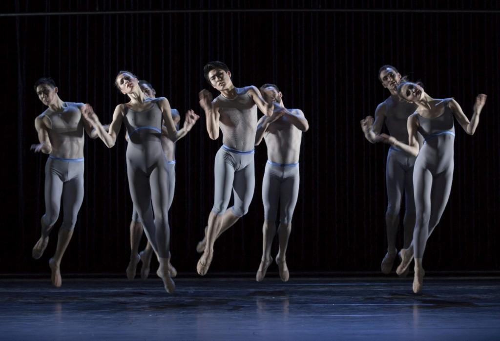 """8. Ensemble, """"Variations and Partitas"""" by M.Schläpfer, Ballett am Rhein © G.Weigelt"""