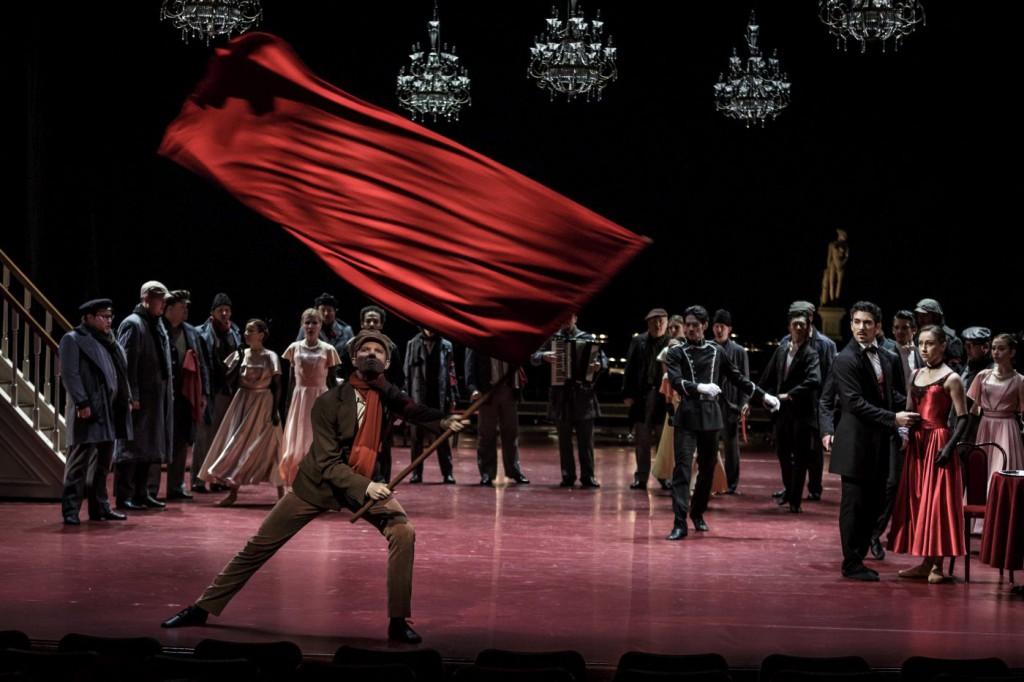 "8. L.Žiher, P.Đorčevski, T.Kmetec and ensemble, ""Doctor Zhivago"" by J.Bubeníček, SNG Opera in Balet Ljubljana © D.Štravs Tisu 2016"