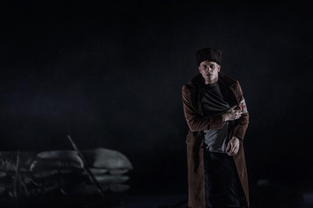 """9. L.Zuschlag, """"Doctor Zhivago"""" by J.Bubeníček, SNG Opera in Balet Ljubljana © D.Štravs Tisu 2016"""