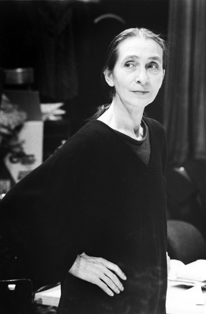 1. P.Bausch, photo by W.Krüger © Pina Bausch Foundation 2016