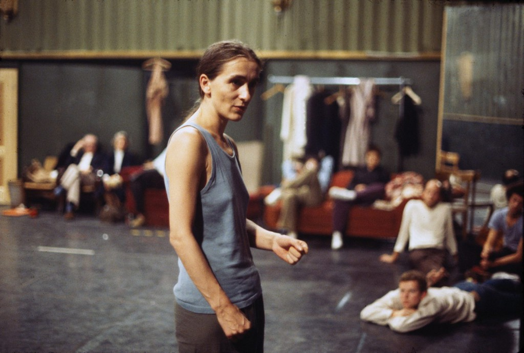 3. P.Bausch, rehearsal in the Lichtburg Wuppertal, ca. 1978, photo by U.Weiss © Pina Bausch Foundation 2016