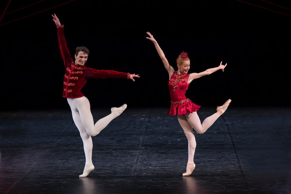 "8. D.Tamazlacaru and I.Salenko, ""Jewels"" by G.Balanchine, State Ballet Berlin © S.Ballone"