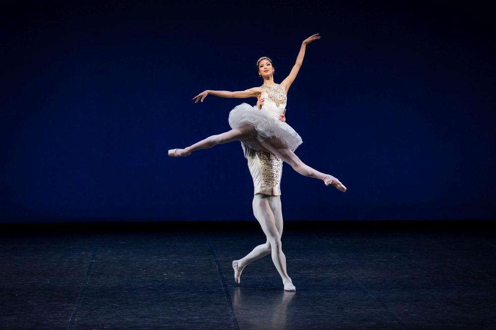 "9. S.Nakamura and M.Kaniskin, ""Jewels"" by G.Balanchine, State Ballet Berlin © S.Ballone"
