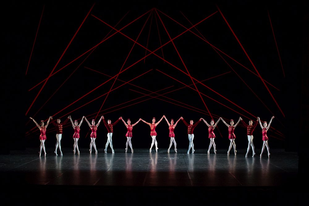 "5. Ensemble, ""Jewels"" by G.Balanchine, State Ballet Berlin © S.Ballone"