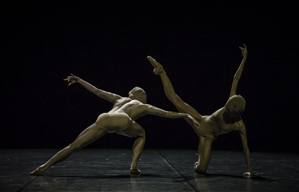 "17. R.Aleman and L.Stiens, ""Absence"" by R.D'Alesio; Noverre Society, Young Choreographers © Carlos Quezada"