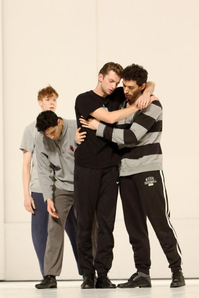 """6. J.Cook, N.Losada, M.Dilaghi and R.Strona, """"Für die Kinder vo gestern, heute und morgen"""" by P.Bausch, Bavarian State Ballet © W.Hösl"""