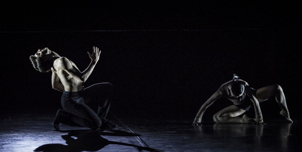 "5. F.Adorisio and J.Park, ""Hands, be still"" by Ö.Ayik; Noverre Society, Young Choreographers © Carlos Quezada"