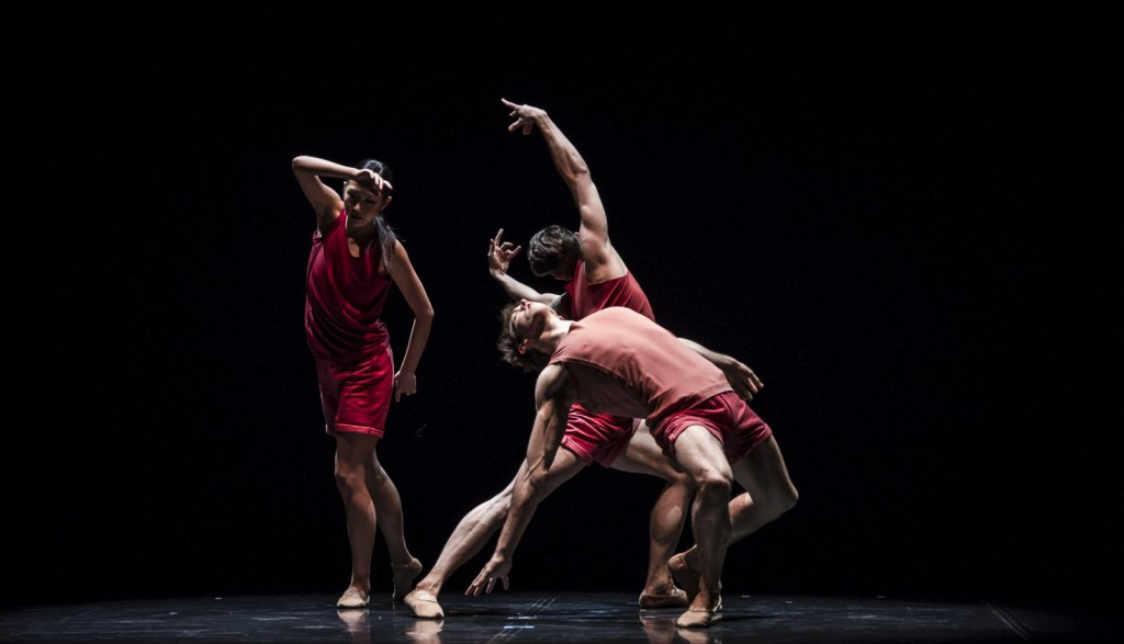 "13. A.Su, R.Robinson and L.Stiens, ""Haven"" by R.Chappell; Noverre Society, Young Choreographers © Carlos Quezada"