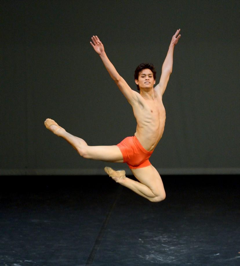 """5. A.Soares da Silva, """"Notations I-IV"""" by U.Scholz, John Cranko School © Stuttgart Ballet 2016"""