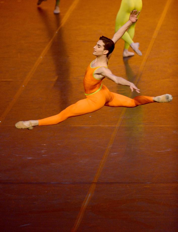 "2. V.Silva (Academy Class A), ""Simple Symphony"" by A.Marriott, John Cranko School © Stuttgart Ballet 2016"