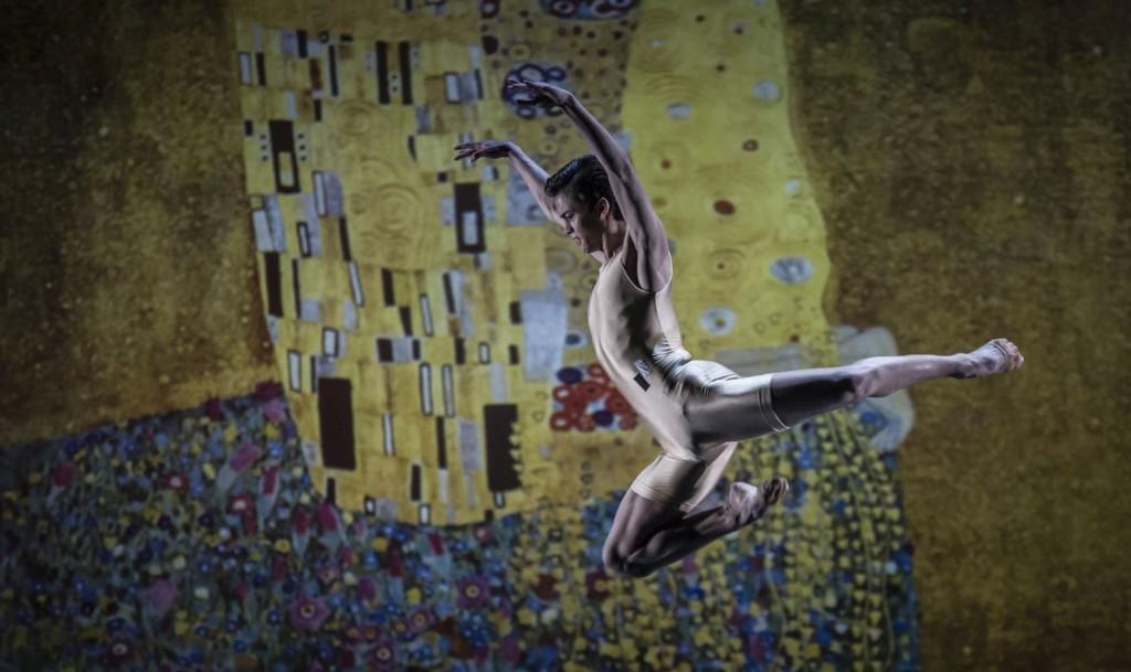 "8. A.Soares da Silva, ""Klimt's persuasion"" by A.de Mori; Noverre Society, Young Choreographers © Carlos Quezada"