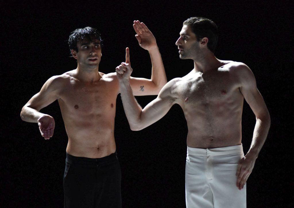 "6. R.Guerra and A.Marchini, ""Nijinski"" by M.Goecke, Gauthier Dance © R.Brocke 2016"
