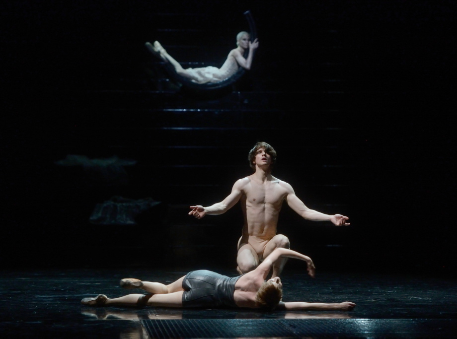 "2. E.Badenes, D.Moore and A.Amatriain, ""Salome"" by D.Volpi, Stuttgart Ballet © Stuttgart Ballet 2016"