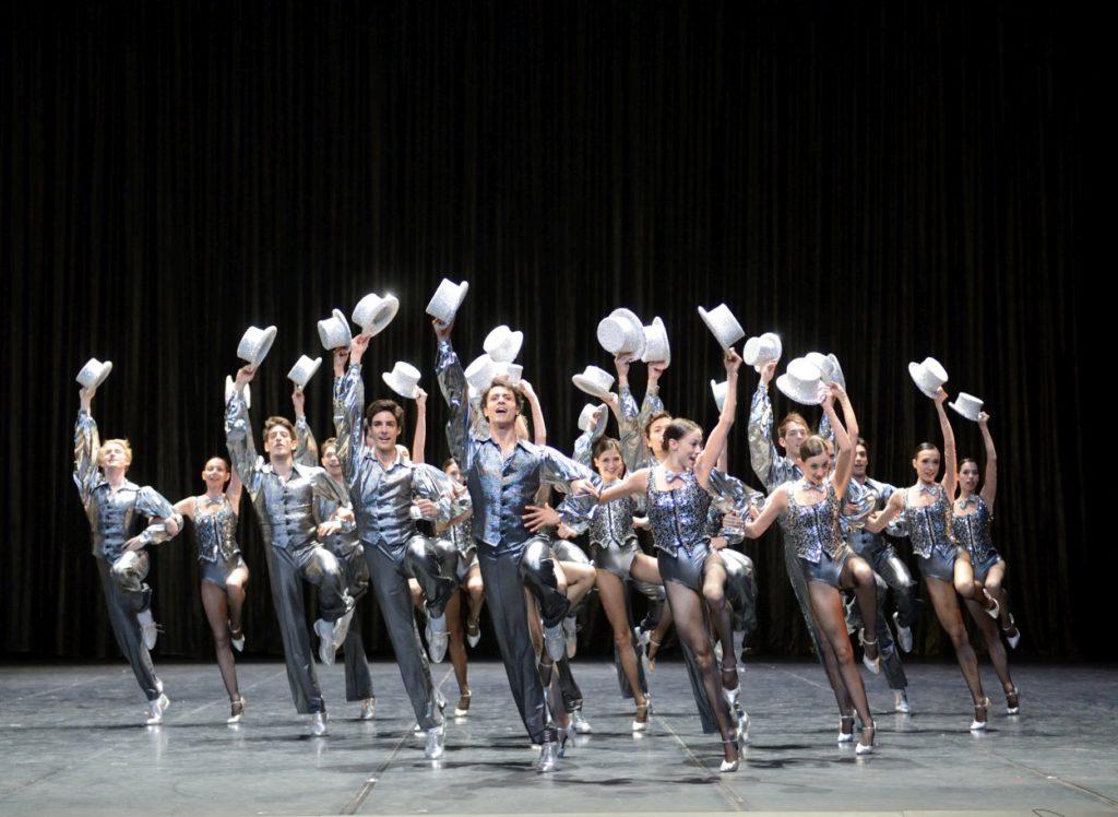 """11. Ensemble, """"A Chorus Line"""" by T.Detrich, """"Stuttgart Ballet Gala"""" © Stuttgart Ballet 2016"""