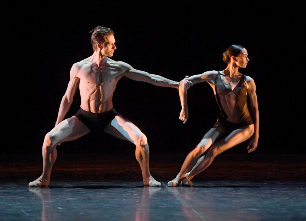 """6. F.Vogel and D.Vishneva, """"Kazimir's Colors"""" by M.Bigonzetti, """"Stuttgart Ballet Gala"""" © Stuttgart Ballet 2016"""