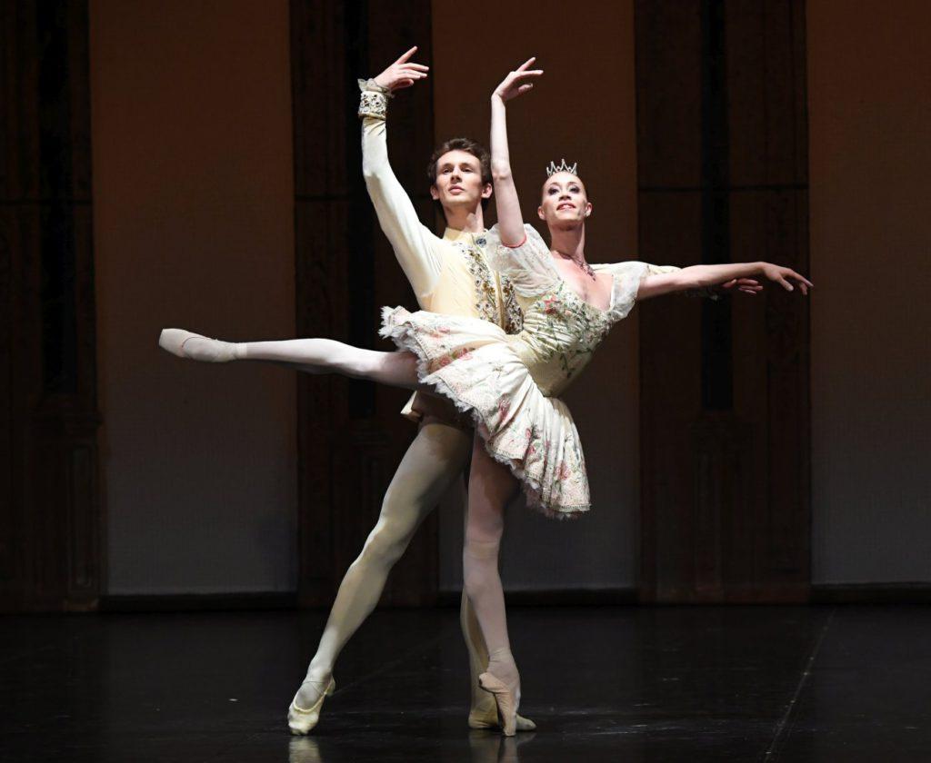 """4. S.Chudin and A.Osadcenko, """"The Sleeping Beauty"""" by M.Petipa, """"Stuttgart Ballet Gala"""" © Stuttgart Ballet 2016"""
