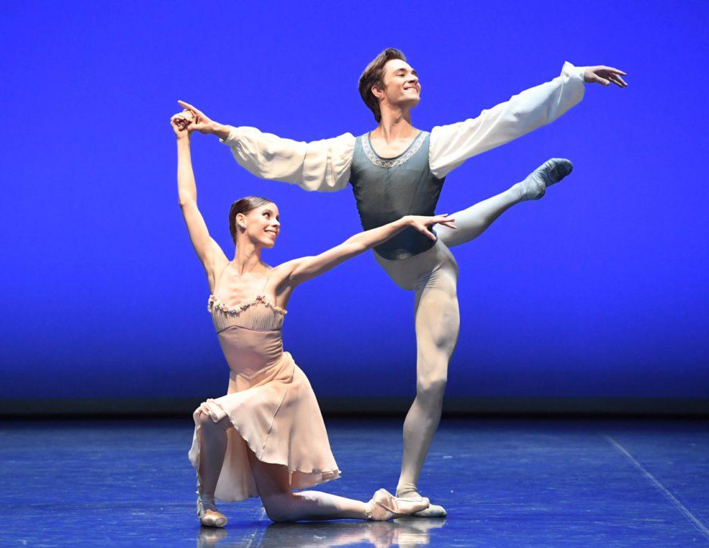 """7. E.Badenes and F.Vogel, """"Tchaikovsky Pas de Deux"""" by G.Balanchine, """"Stuttgart Ballet Gala"""" © Stuttgart Ballet 2016"""