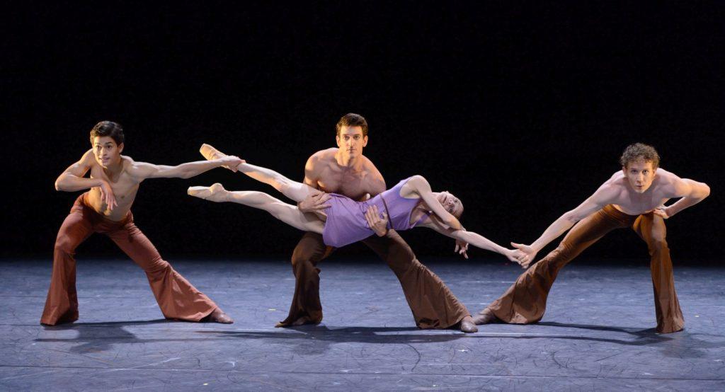 """11. A.Amatriain, A.Soares da Silva, F.Adorisio and A.Mc Gowan, """"Sirs"""" by B.Breiner, Stuttgart Ballet © Stuttgart Ballet 2016"""