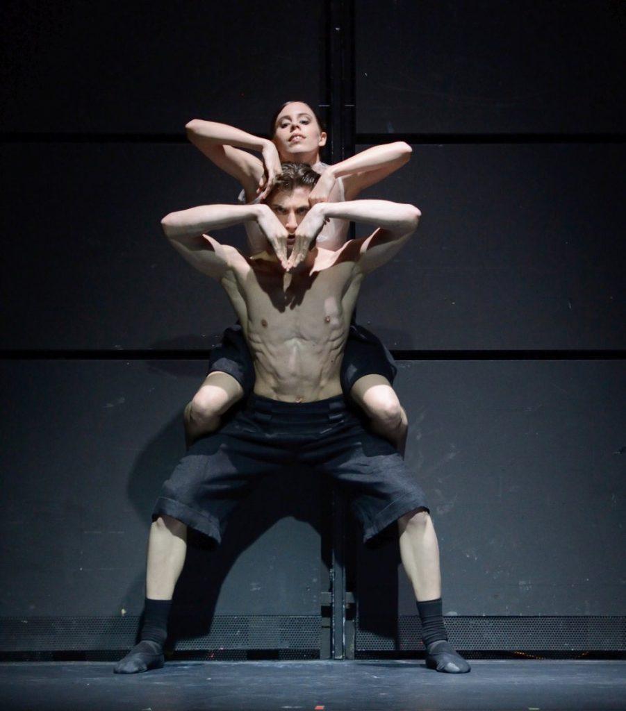 """3. E.Badenes and M.Miccini, """"Big Blur"""" by D.Volpi, Stuttgart Ballet © Stuttgart Ballet 2016"""