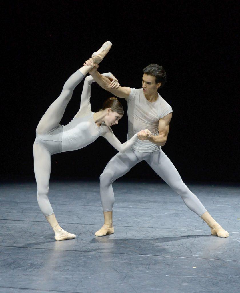 "7. E.Badenes and M.Fernandez Paixa, ""Miniatures"" by D.Lee, Stuttgart Ballet © Stuttgart Ballet 2016"